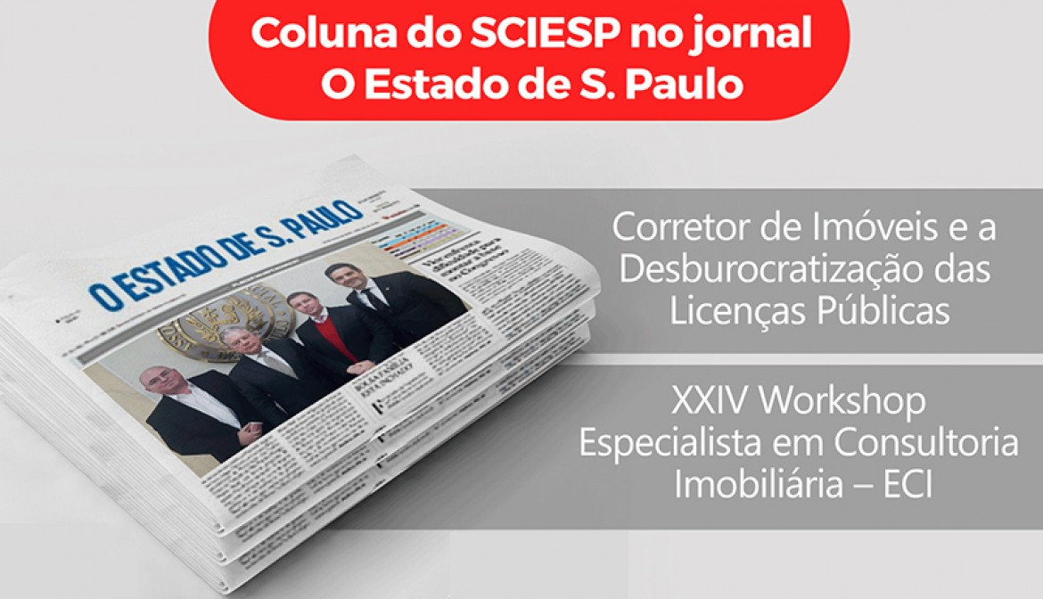 Coluna do SCIESP no Estadão de 03 de abril de 2017.