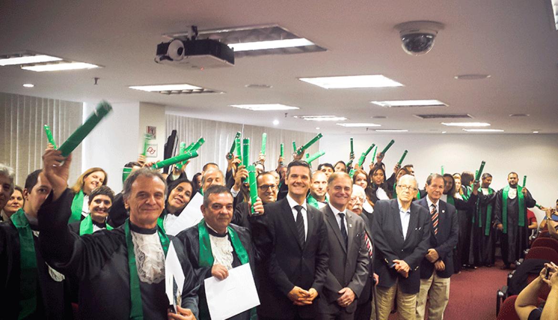 EBRAE celebra mais uma formatura de mais uma turma do curso de TTI
