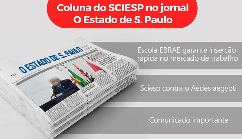 Coluna do SCIESP no Estadão de 27 de março de 2017.